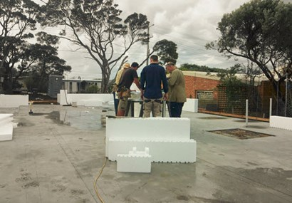 Top Property: Building a house out of polystyrene