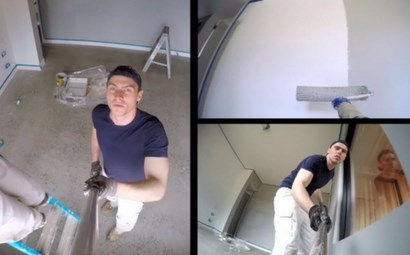 Watch now: DIY painting a million-dollar home