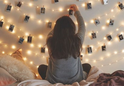 How to use fairy lights - outside of the festive season